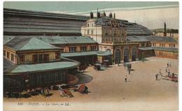 Dijon : La Gare (Editeur Lévy Fils Et Cie, Paris, LL N°165) - Dijon