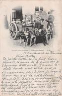 CPA - LAITIERE AVEC CHARRETTE - LE PROCES VERBAL ~ AN OLD POSTCARD #211450 - Chiens