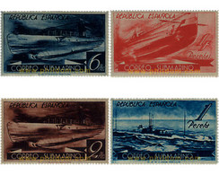 Ref. 642668 * MNH * - SPAIN. 1938. SUBMARINE MAIL . CORREO SUBMARINO - 1931-50 Unused Stamps