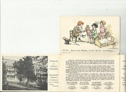 3797 T - CPA 3 Volets - Pupilles De L'Ecole Publique - Illustrateur Poulbot - Poulbot, F.