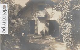 "CP PHOTO D'ARCACHON : Villa ""Les Chénes"",animée. - Arcachon"