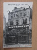 CPA Magasin DUVAL-MOLINIE (devanture) - VIRE (Calvados) - Souvenir Du 13 Août 1911 - Carte Non-circulée - Shops