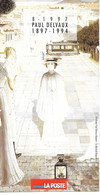 Feuillet N° 8 De 1997 - Poste Belge - Belgium - Paul Delvaux - Documents De La Poste