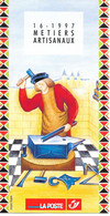 Feuillet N° 16 De 1997 - Poste Belge - Belgium - Métiers Artisanaux - Documents De La Poste