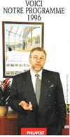 Feuillet - Programme Philatélique 1996 - Documents De La Poste
