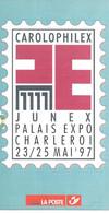 Feuillet - Carolophilex 1997 - Documents De La Poste