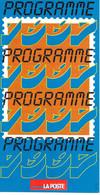 Feuillet - Programme 1997 - Documents De La Poste