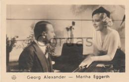 Georg Alexander - Matrha Eggerth - Actor, Actress, Singer - Photo 45x75mm - Personalità
