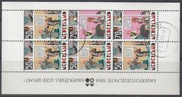 """NIEDERLANDE  Block 27, Gestempelt, """"Voor Het Kind"""": Kind Und Comic 1984 - Bloques"""
