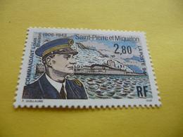 TIMBRE   SPM   ANNÉE   1994    N  592    COTE  1,65   EUROS   NEUF   LUXE** - Neufs