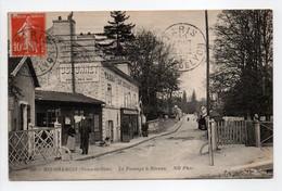 - CPA RIS-ORANGIS (91) - Le Passage à Niveau 1912 (CAFÉ RESTAURANT DE LA GARE) - Photo Neurdein 126 - - Ris Orangis