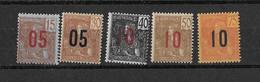 ⭐  Indochine N° Y.T N° 60 à 64**, Neuf Sans Charnière ⭐ - Unused Stamps