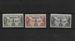⭐  Indochine N° Y.T N° 296 à 298**, Neuf Sans Charnière ⭐ - Unused Stamps