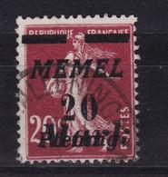 Memel Michel 109 Gestempelt - Klaïpeda