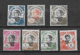 ⭐  Indochine N° Y.T N°96 à 98 Et 99-100-101-105**, Neuf Sans Charnière ⭐ - Unused Stamps