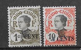 ⭐  Indochine N° Y.T N°72 Et 76**, Neuf Sans Charnière ⭐ - Unused Stamps
