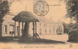 29 PONT L ABBE #21544 MENHIR ET CHATEAU DE KERNUZ - Pont L'Abbe