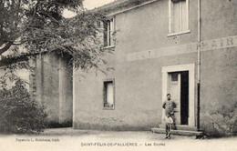 30. GARD::SAINT FELIX DE PALLIERES / LES ECOLES. ANIMEE - La Grand-Combe