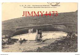 CPA - EQUIHEN En 1912 - Une Cahute (Quartier Des Quilles En L'Air) ( Env. LE PORTEL 62 Pas De Calais ) N° L. D., B. 721 - Le Portel