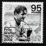 Bund 2020,Michel# 3568 O Fritz Walter (1920-2002) - Gebraucht
