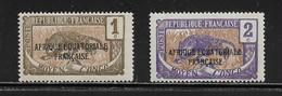 CONGO ( FRCON - 4 )  1924  N° YVERT ET TELLIER    N° 72/73   N* - Ungebraucht