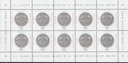BRD  1996, Kleinbogen, Postfrisch **, 50 Jahre DM 1998 - Blocs