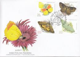 MADEIRA  193-196, FDC, Schmetterlinge, 1998 - Madeira