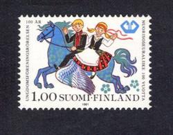 1213950111  1981 SCOTT 658 (XX)  POSTFRIS  MINT NEVER HINGED EINWANDFREI -  BOY AND GIRL RIDING PEGASUS - Nuevos
