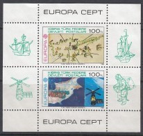 TÜRKISCH ZYPERN Block 4, Postfrisch *, Europa CEPT Große Werke Des Menschlichen Geistes 1983 - 1983