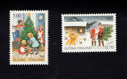 1213951221  1981 SCOTT 660 661 (XX)  POSTFRIS  MINT NEVER HINGED EINWANDFREI -  CHRISTMAS - Nuevos
