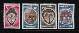 CONGO ( AFCOB - 196 )  1966  N° YVERT ET TELLIER    N° 199/202   N* - Nuevas/fijasellos