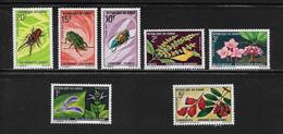 CONGO ( AFCOB - 197 )  1970  N° YVERT ET TELLIER    N° 268/274   N** - Nuevas/fijasellos