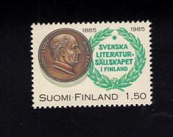 1213953816  1985 SCOTT 701 (XX)  POSTFRIS  MINT NEVER HINGED EINWANDFREI -  100TH ANNIV OF SOCIETY OF SWEDISH LITERATURE - Nuevos