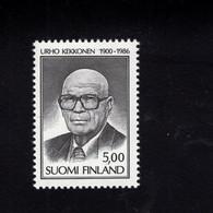 1213955868  1986 SCOTT 742 (XX)  POSTFRIS  MINT NEVER HINGED EINWANDFREI -  URHO KALEVA KEKKONEN - PRESIDENT - Nuevos