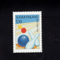 1213957317 1987 SCOTT 753 (XX)  POSTFRIS  MINT NEVER HINGED EINWANDFREI -  WORLD BOWLING CHAMPIONSHIPS - SPORT - Nuevos