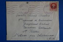 L15 FRANCE  LETTRE  DEVANT 1944 LYON POUR ST MAUR +SURCHARGE + AFFRANCH. PLAISANT - Lettres & Documents