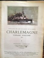 MONOGRAPHIE LIVRET CHARLEMAGNE CUIRASSÉ 1968 PLAN BATEAU - Unclassified