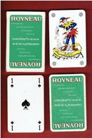 JEU 32 CARTES A JOUER PUBLICITE ROYNEAU TRANSPORT DEMENAGEMENT A CHARTRES EURE ET LOIR - 32 Cards