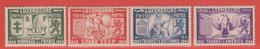 1945 Luxemburg  ** (sans Charn., MNH, Postfrisch)  Yv  356/9Mi  343/6 - Nuevos