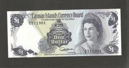 Iles Cayman, 1 Dollar, 1974 Currency Law Issue - Cayman Islands