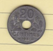 T P/ Pl Pièces 10/ 05)  Monnaies > France > 1901-2001 > Etat Français (Format Voir Le Scan 1 Cm Entre 2 Trais) - E. 20 Centimes