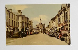 Cartolina Illustrata Coleraine - Church Street, Viaggiata 1959 - Londonderry
