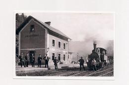 PHOTO  TRAIN EN  GARE GRAUFTHAL - - Other Municipalities