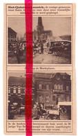 Orig. Knipsel Coupure Tijdschrift Magazine - Sint Kwintens Lennik - Moord Op Van Belle, Markt  - 1924 - Ohne Zuordnung