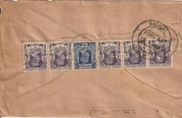 Birmanie Lettre Kalal Pour L'Inde - Burma (...-1947)