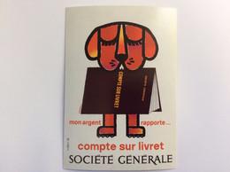150 Ans De La Société Générale : Carte Collector - Mon Argent Rapporte - Auric - 1967 - Bancos