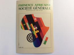 150 Ans De La Société Générale : Carte Collector - Présence Africaine - Auriac - 1970 - Bancos