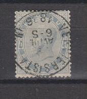 COB 39 Oblitération Centrale VERVIERS (Station) Superbe Petit Aminci - 1883 Léopold II