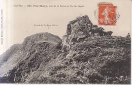 Puy Mary Pris Pas De Peyrol. Chevres  Carte Postale Animee  1913 - Non Classificati