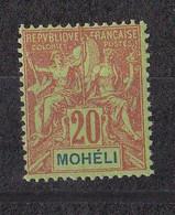 ⭐ Mohéli Y.T N°6**, Neuf Sans Charnière ⭐ - Neufs